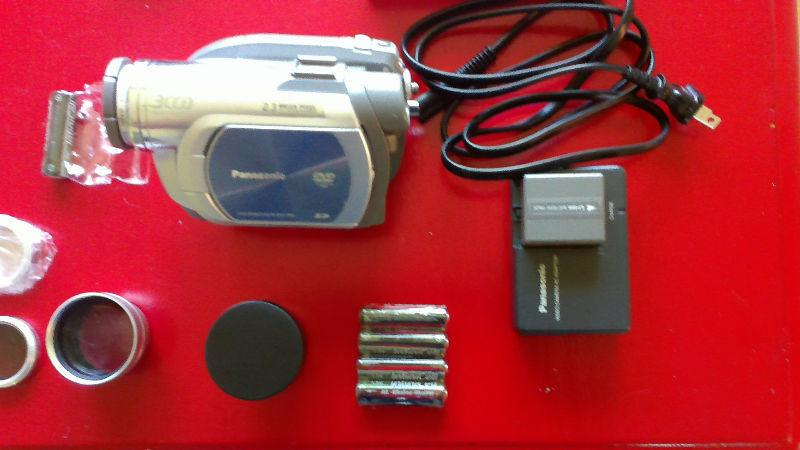 Panasonic VDR D 250 with accerssories