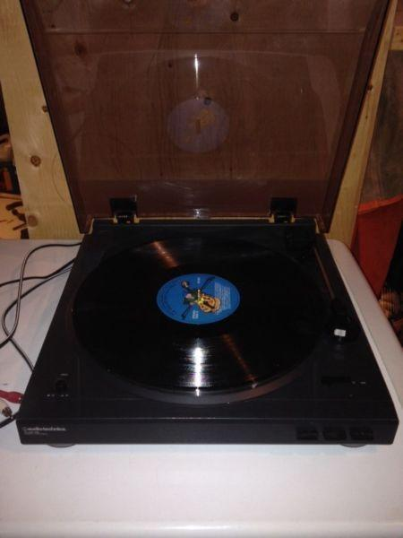 Audio technica Atld-2p turntable record player