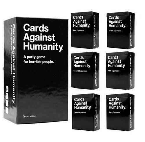 Cards Against Humanity Base Set + 1-6 Expansions