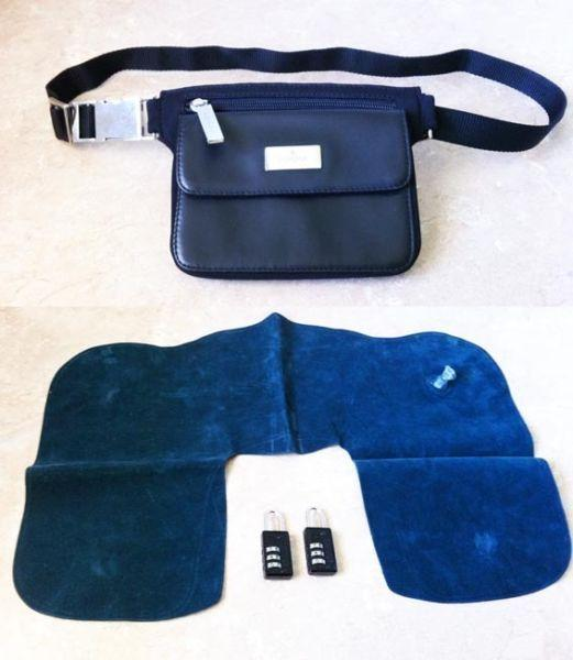 Belt Bag, Travel Pillow, Luggage Padlocks