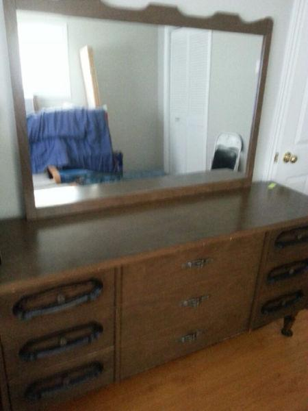 Dressers and mirrors for sale