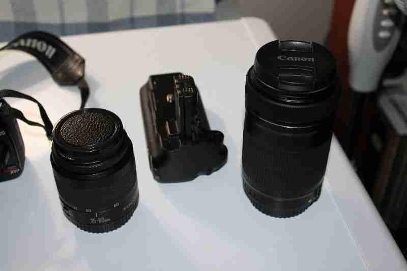 Canon xti and Lenses