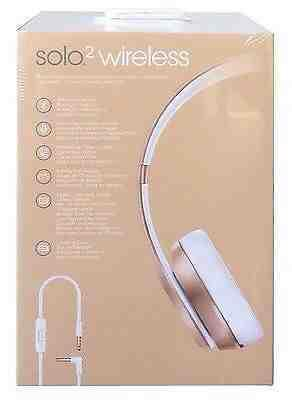 Beats Solo2 wireless spécial Gold Éditions