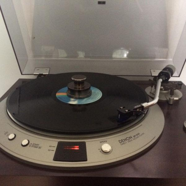 High End Vintage Denon Turntable