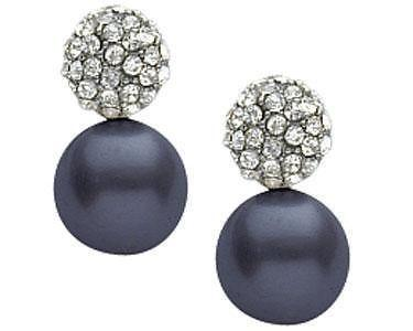 Black PEARL EARRINGS - BRAND NEW