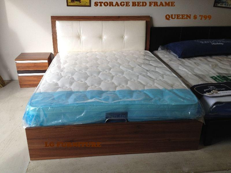 REALLY REALLY NICE BRAND NEW BED WITH FRAME & MATTRESS