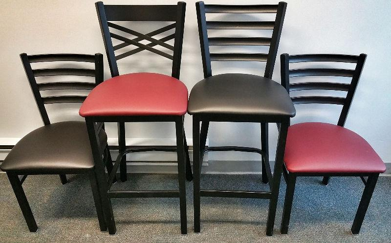 Restaurant Chairs and tables / Metal frame chairs / cafe tables
