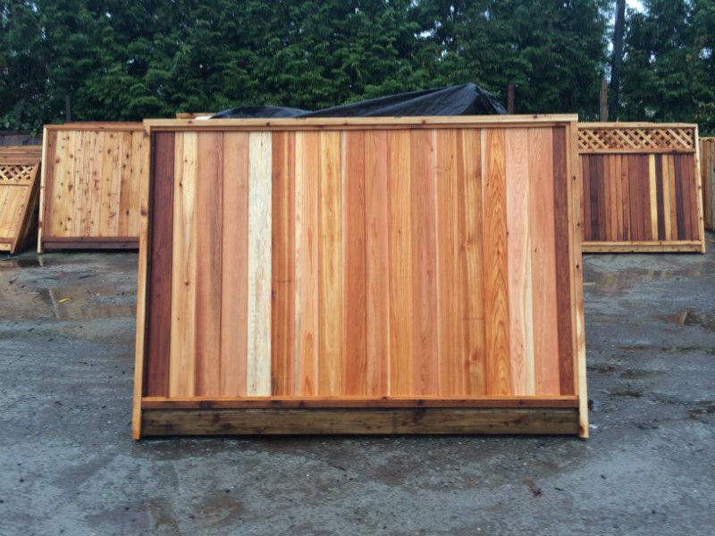6x8 cedar fence panels from $38!Installs,Sheds,Lumber! MUCH MORE