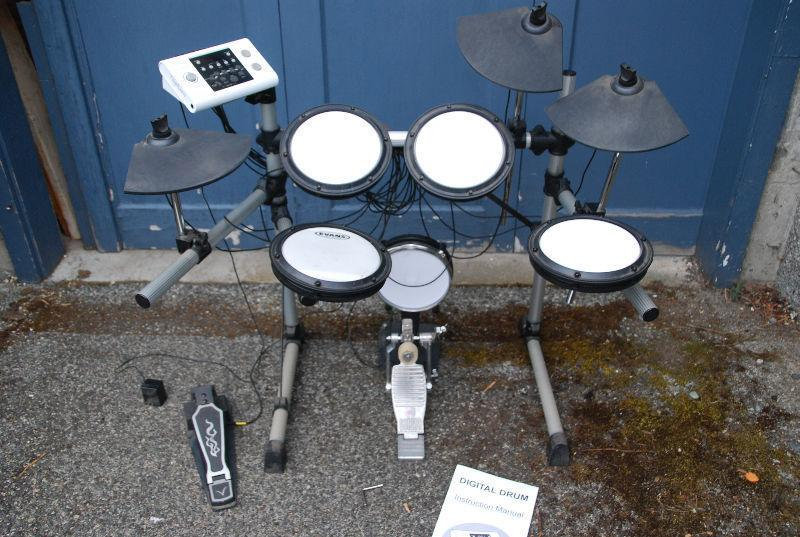 TYPHOON ELECTRONIC DRUM SET