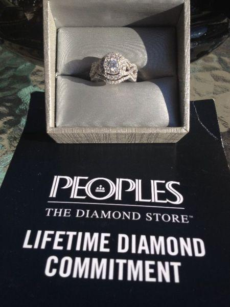3 piece Diamond Ring set. SERIOUS INQUIRIES ONLY