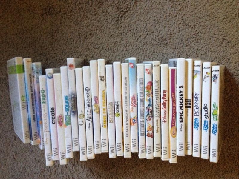 Assorted Wii Games and other