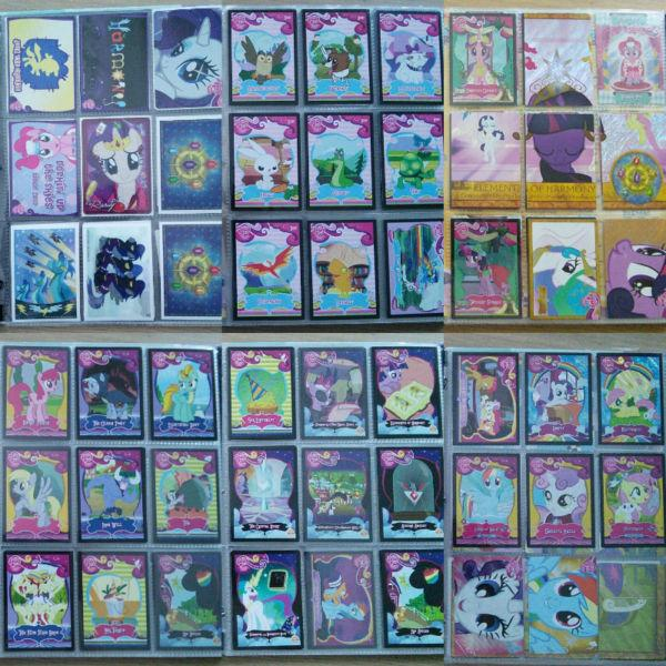 Large My Little Pony Card Collection