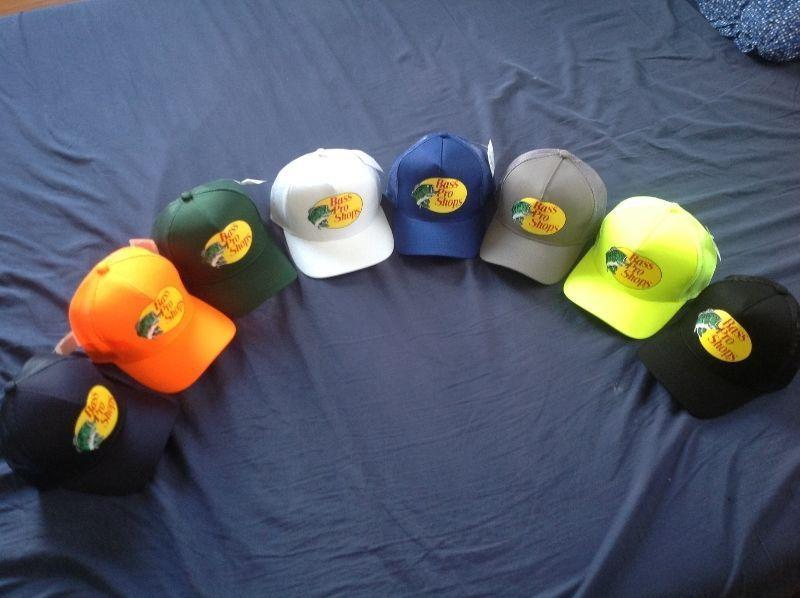 New with tags Bass Pro Shop baseball caps (hats)