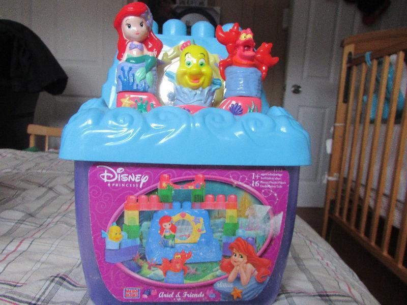 ariel building block toy