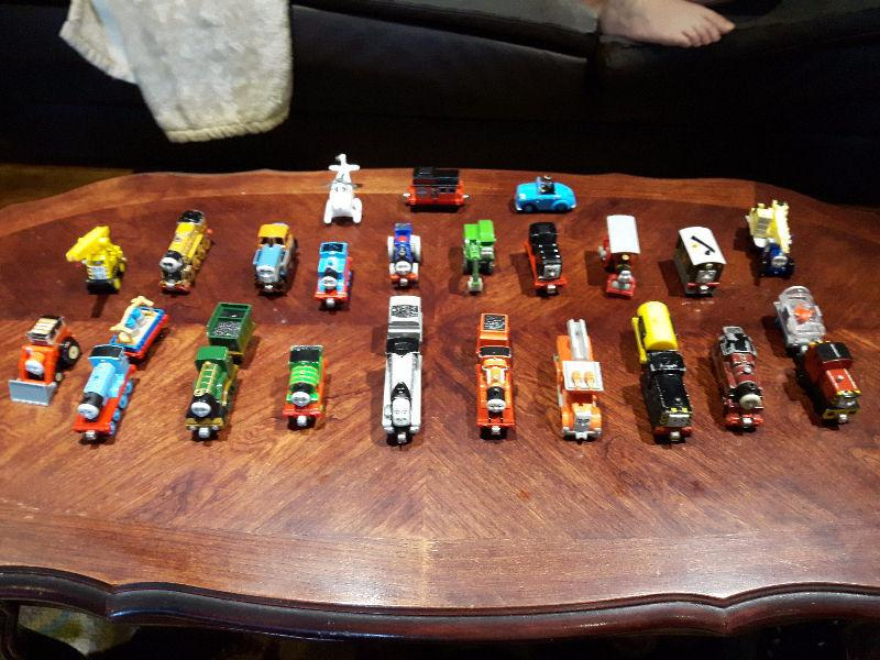 Metal Thomas train characters. 24 different characters