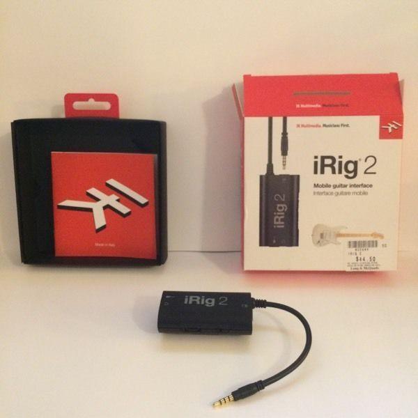 IRig 2 Mobile Guitar Interface