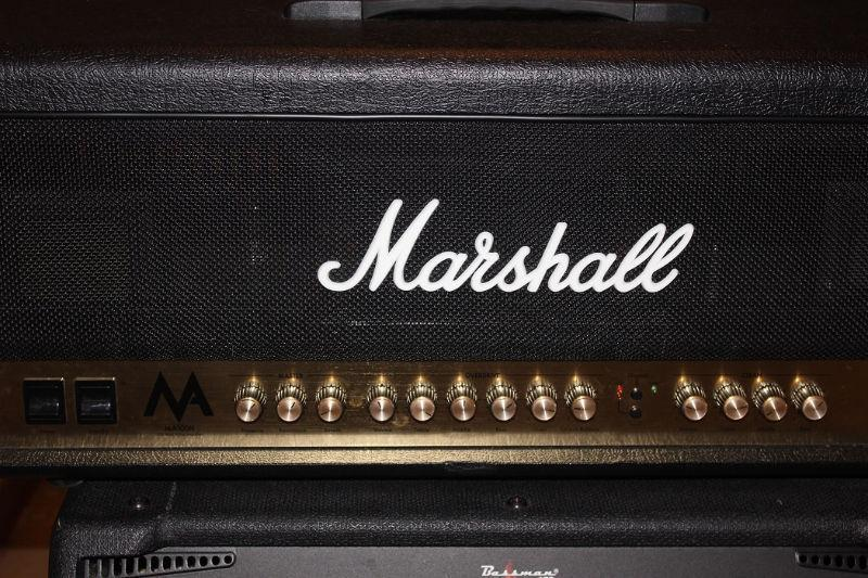 FS/T Marshall 100 Watt ALL TUBE 2 Channel Head MINT Condition