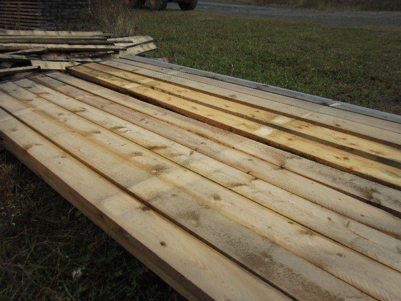 kiln dried rough lumber