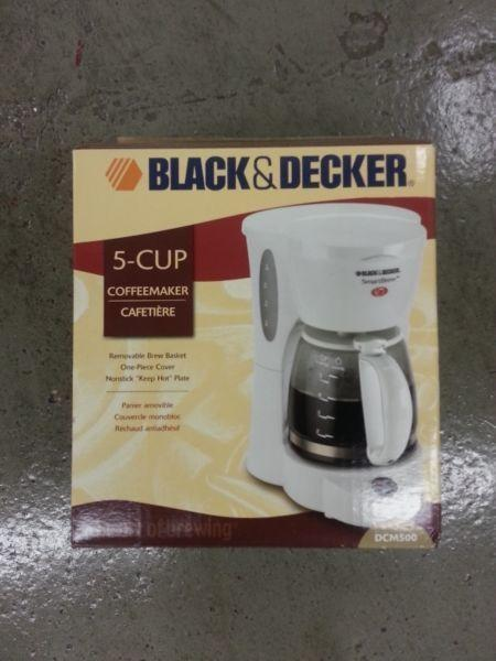 Brand new Coffee Maker - Black & Decker