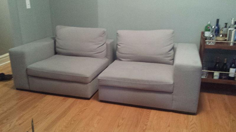 2 part Elte Sofa for sale - priced to sell