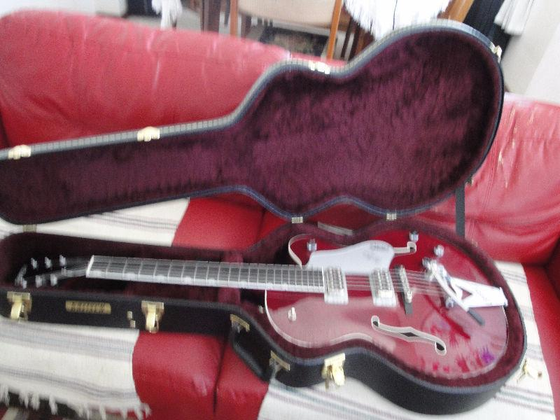 GRETSCH CHET ATKINS HOLLOW BODY TENNESSEE ROSE BRAND NEW $2900