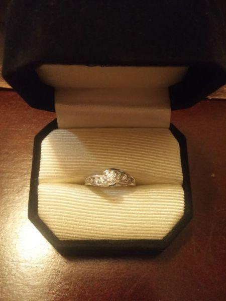 BRAND NEW Canadian Diamond Engagement Ring (NEVER WORN)