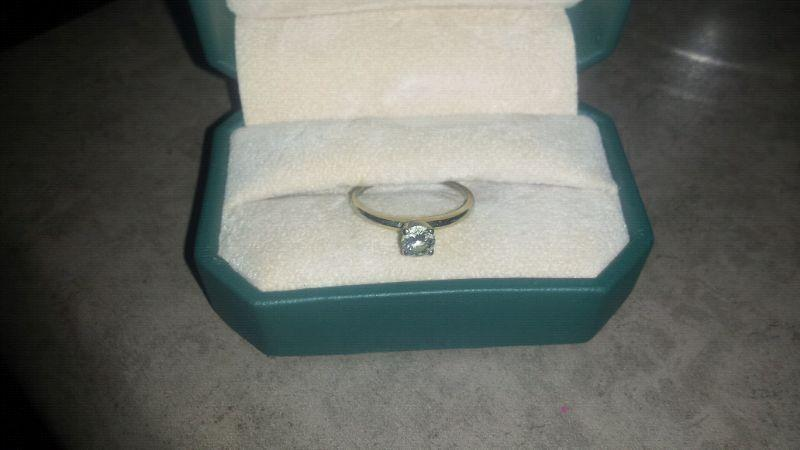 Wedding ring set/ diamond ring