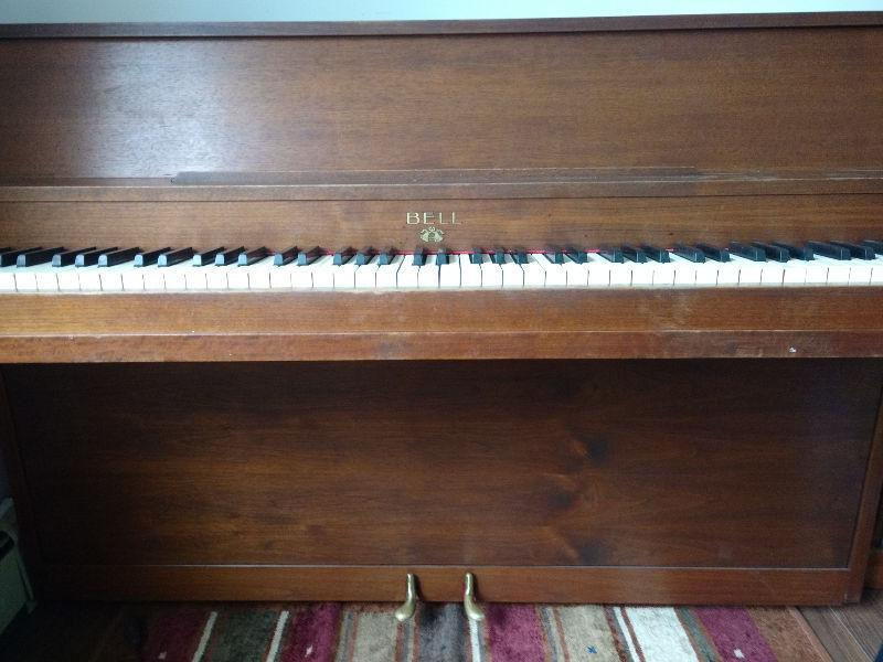 Bell Upright Piano for sale