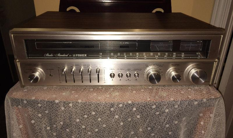 Beautiful Vintage Fisher 30 WPC Studio Standard Receiver RS-20