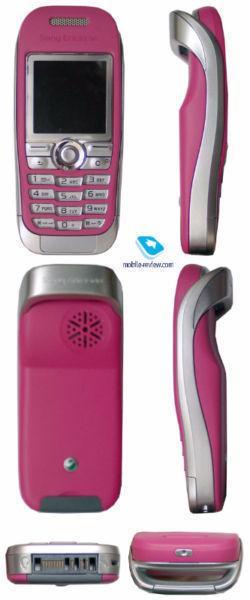 Rogers Sony Ericsson J300A Pink GSM 850/1900 Phone, Mint Shape