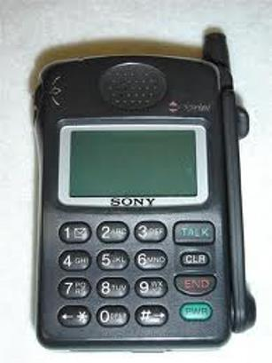 Sony CM-Z100SPR Bell Cell Phone, Mint Condition