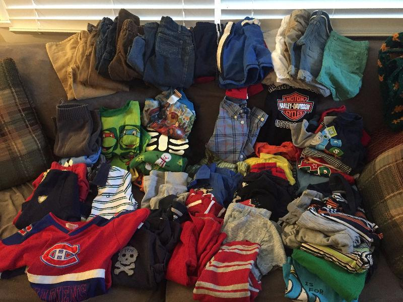 4 year old boy clothes