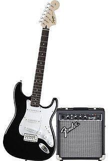 Fender Squier Strat Electric Guitar Fender 10G, AMP MINT COND