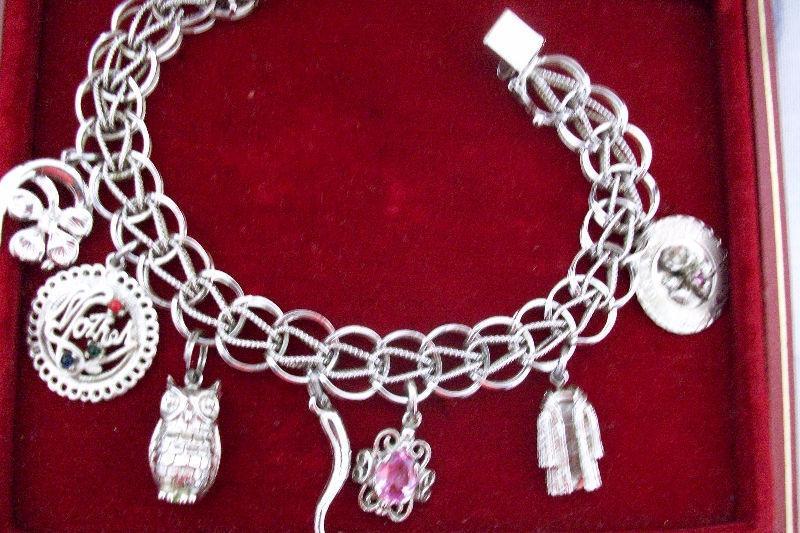 A Sterling Silver Charm bracelet