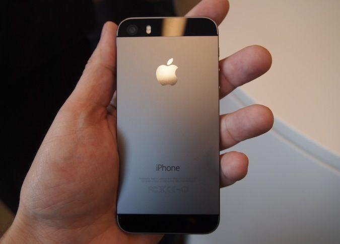 Iphone 5s black almost brand new