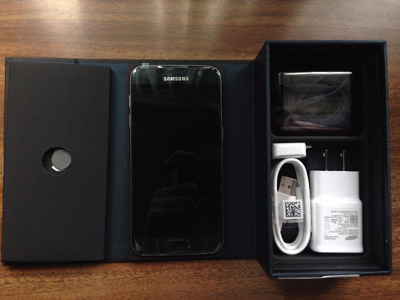 Brand New - Samsung S7 - Unlocked - Black -32 GB