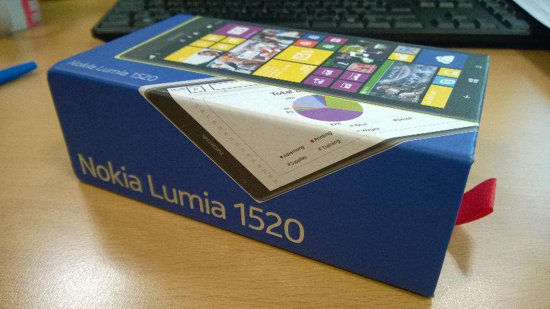 NOKIA LUMIA 1520 neuf /brand new