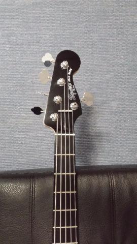 Basse Fender Squier 5 cordes Deluxe Jazz Bass V Active