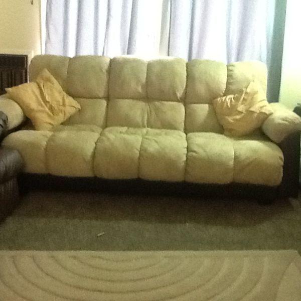 Microfibre sofa for sale