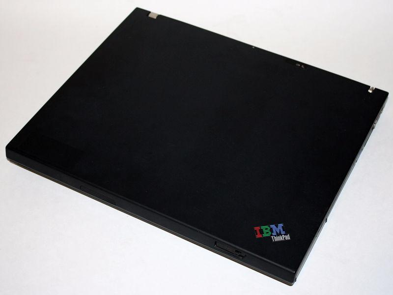 IBM ThinkPad T42 Laptop Pentium M DVD/CDRW 1GB RAM 40GB WiFi 14