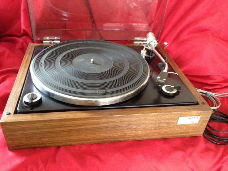 Vintage Sony PS1100 Stereo Turntable