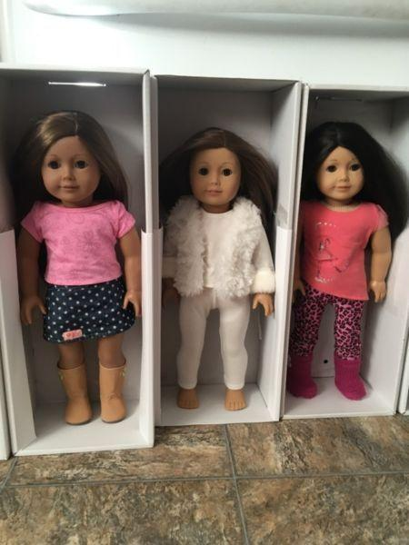 American girl doll lot