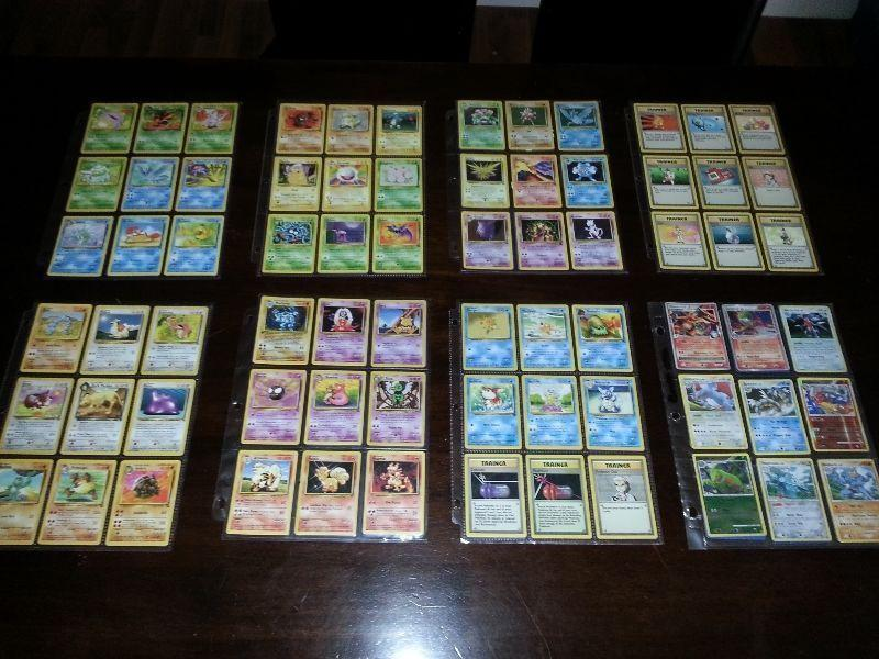 Big Pokemon Trading Card Collection from original series