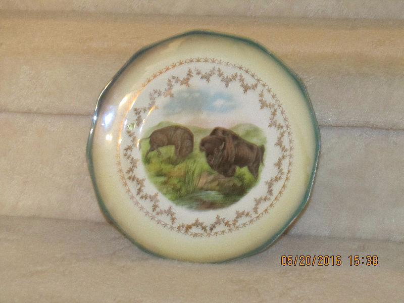 Plate - Buffalos - Sterling China