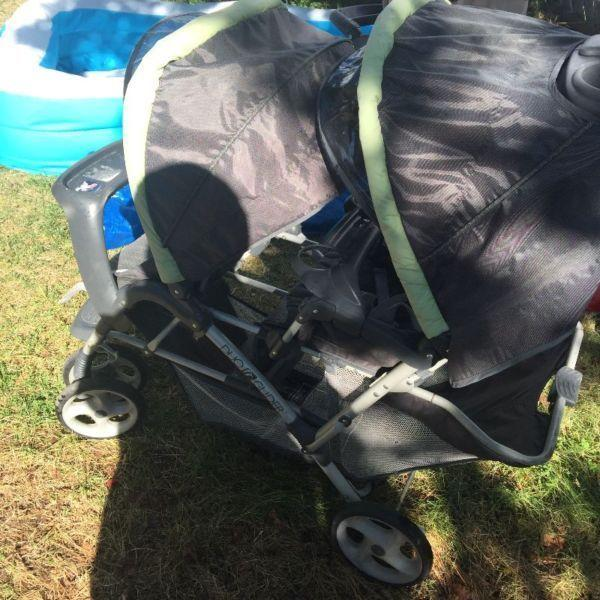 Craco duo glider double stroller