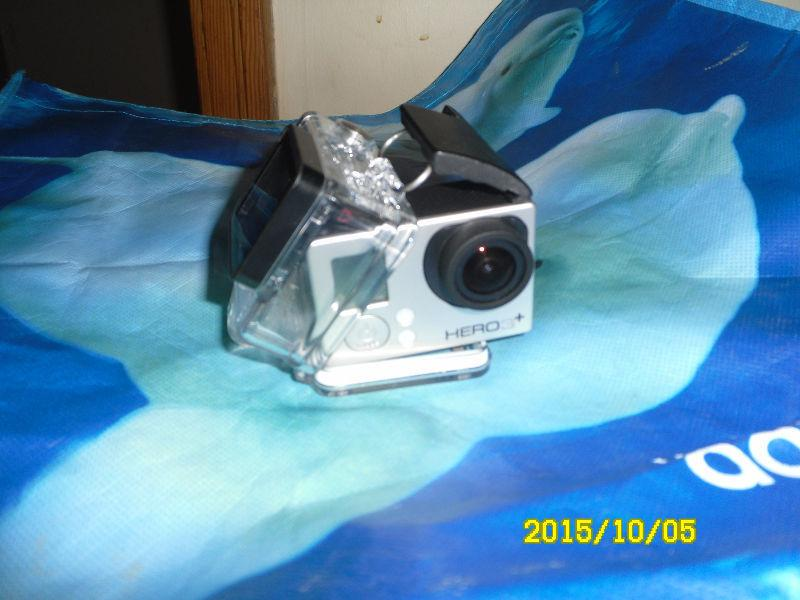 GO PRO HERO 3 + Silver WI-FI With Shock cover Used once