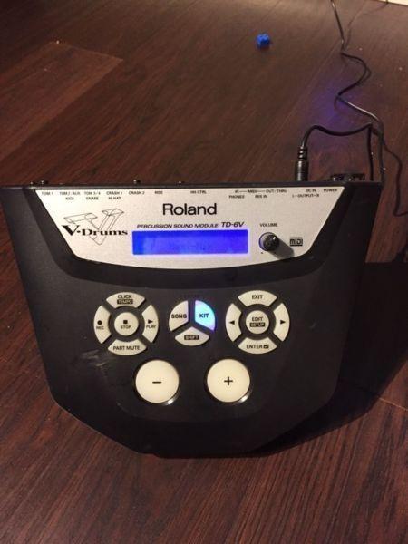 Roland TD-6V Drum Module