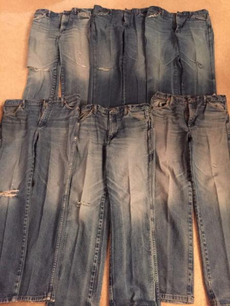 DENIM (MENS WRANGLER JEANS) POSSIBLY FOR THE QUILTER