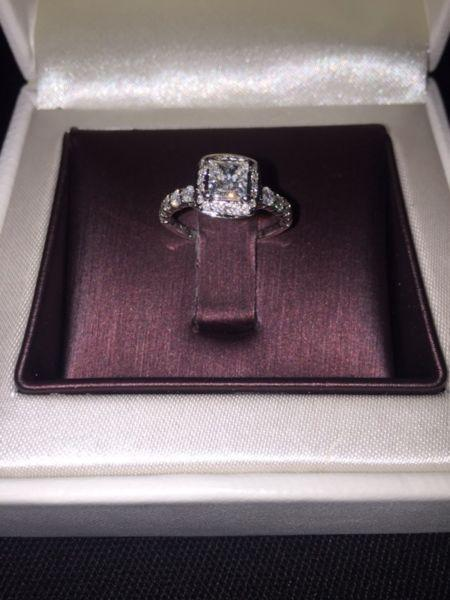 Canadian Mined Diamond Engagement Ring