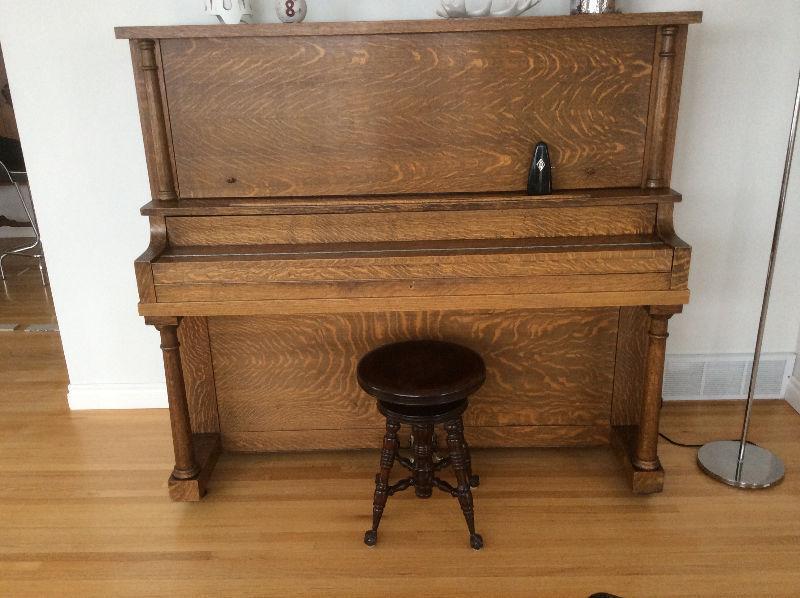 Doherty upright piano